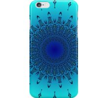 Blue Symmetry 2 iPhone Case/Skin