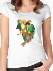 Caique Love Women's Fitted Scoop T-Shirt