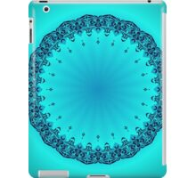 Blue Symmetry 3 iPad Case/Skin
