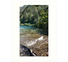 Crescent Lake, Washington Art Print