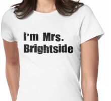 mrs. brightside 2 Womens Fitted T-Shirt