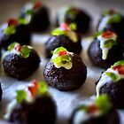 Mini Christmas Puddings by Paul Louis Villani