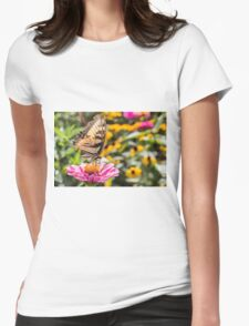 Tattered Wings of the Swallowtail Womens Fitted T-Shirt
