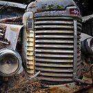International Truck, Nubeena, Tasmania. by Philip Hallam
