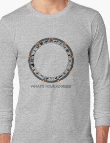 OmniGate (What's Your Address? version) Long Sleeve T-Shirt