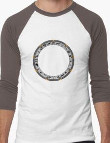 OmniGate (no text version) Men's Baseball ¾ T-Shirt