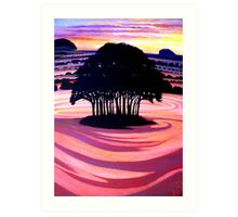 Glory Fields, Wiltshire Landscape  Art Print