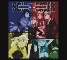soul eater maka death soul tsubaki black star anime manga shirt by ToDum2Lov3