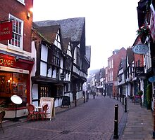 The Old Streets of Worcester, in December  by hootonles