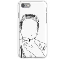 Luke Hemmings Outline iPhone Case/Skin