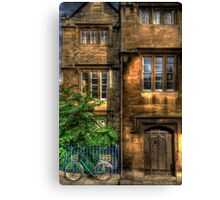 Broad Street House - Oxford, England Canvas Print