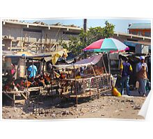 Chicken market in Nairobi, KENYA Poster