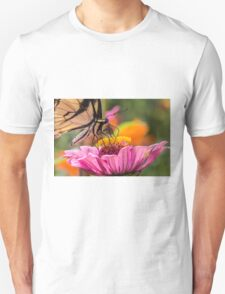 Tiger Swallowtail with Tattered Wings  T-Shirt