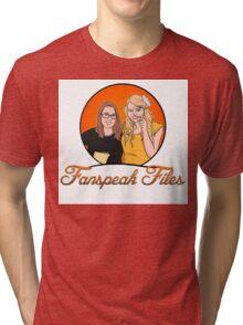 Fanspeak Files Logo Tri-blend T-Shirt
