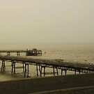 Weston Lifeboat Pier by Susie Hawkins