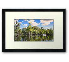Murray River in flood Framed Print