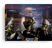 CORPORATE POISEN Canvas Print