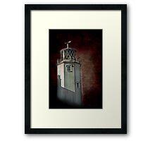 Lizard Lighthouse Framed Print