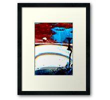 Bleh. Framed Print