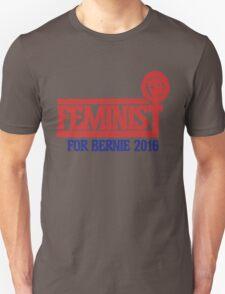 Feminist for bernie sanders 2016 Unisex T-Shirt