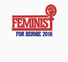 Feminist for bernie sanders 2016 Womens Fitted T-Shirt