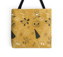 Over the Garden Wall Pattern Tote Bag
