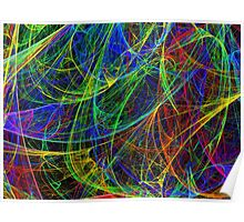 Colorful Scribble Poster