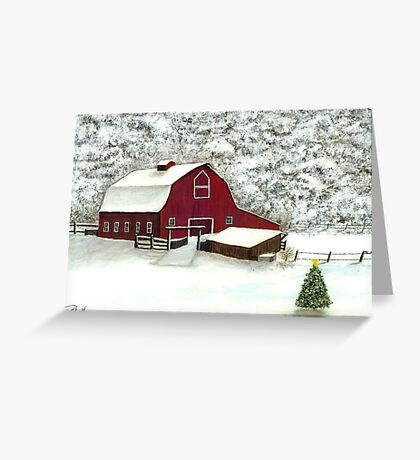 Wisconsin Christmas Greeting Card