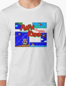 Alex kid in miricale world Long Sleeve T-Shirt