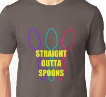 Straight Outta Spoons Unisex T-Shirt