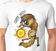 Carpe Diem Belgian Shepherd Unisex T-Shirt