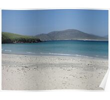 Hushinish beach, Isle of Harris Poster