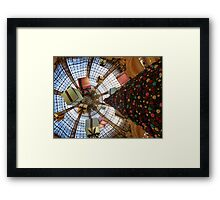 Christmas shopping at its best - (view larger!) Framed Print
