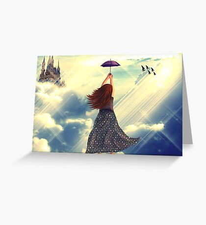 Flying away .............. Greeting Card