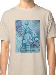Eithne Sweeney Art, buddha sitting tranquil Classic T-Shirt