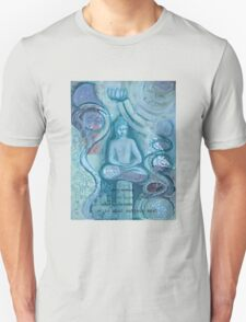 Eithne Sweeney Art, buddha sitting tranquil Unisex T-Shirt