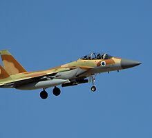Israeli Air Force F-15I Eagle by Eleu Tabares