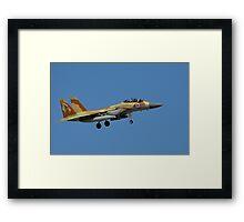 Israeli Air Force F-15I Eagle Framed Print