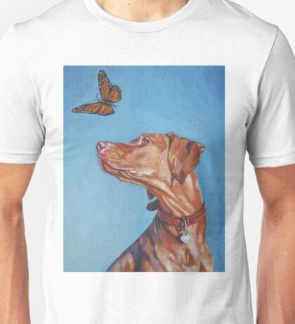 Vizsla Fine Art Painting Unisex T-Shirt