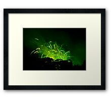 Up in the Air IV. Framed Print