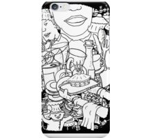 Mind  Wandering in the Cafe iPhone Case/Skin