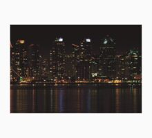 San Diego Skyline Night Kids Clothes