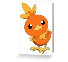 Torchic Greeting Card
