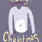 Merry Christmas Jumper by aileenswansen