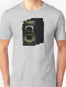 Retro Camera Cracked T-Shirt