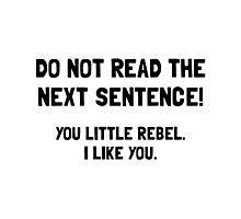Little Rebel Photographic Print