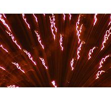 explosion lines Photographic Print