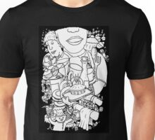 Mind  Wandering in the Cafe Unisex T-Shirt