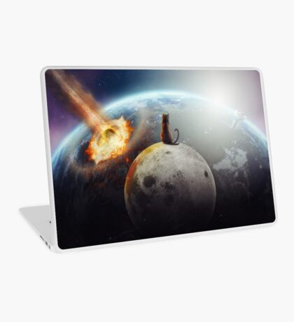 Cat Victory Laptop Skin