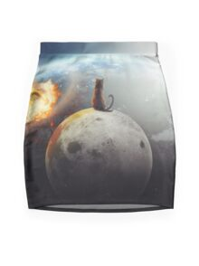Cat Victory Mini Skirt
